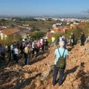 Na úpatí kopce zjevení - v dáli je Međugorje