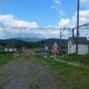 Z Ukrajiny smutně koukáme na polské Bieszczady... mezi námi a vrcholky hor je ostře střežená hranice
