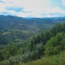 Výhledy jsou jedinečné, údolí řeky Už