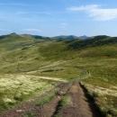Poloniny jsou dodnes využívány jako pastviny, proto ty cesty