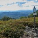 Výhled z hory Plaša