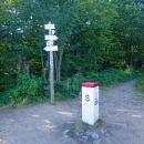 Vrchol Kruhliak (polsky Okraglik) má 1101 metrů