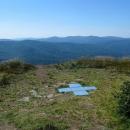 Výhled od Puchatky na hřeben, který jsme šli před dvěma dny.