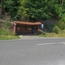 Protože na večer hlásili silné bouřky, sestoupili jsme z hřebene ke Smolnické pile a pokusili se dostopovat do obce Úhorná (bus nejel)