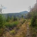 A už je před námi Klenovský Vepor, 1338 m. Dnešní den - vcelku pohodových 22 km