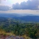 Výhled z Klenovského Veporu (1338 m)