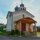 Okoukli jsme zdejší pravoslavný kostelík a pak se vydali směr obchod. Jenže! Zjistili jsme, že je státní svátek (SNP) a tudíž zavřeno.