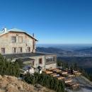 Chata Jiřího na Šeráku s výhledem na Jeseník