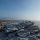 Doufali jsme, že aspoň na Keprníku (1423 m) vyjdeme nad mraky, ale bylo to hodně na hraně.