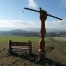 Pomník neznámého lyžaře - vloni objevené místo s krásným výhledem