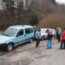 Třetí den vyrážíme na výlet opět auty (mimo jiné musíme doplnit zásoby). Auta jsme zaparkovali na kraji obce Rychnov na Moravě. Oteplilo se na několik stupňů nad nulou. Rodina Z. odjela dnes už domů, takže jdeme opět bez nich.