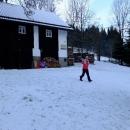 S Mílou a dětma odjíždíme lyžovat do Českých Petrovic...