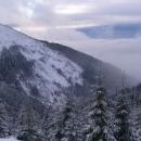 Zima nad Dolní Moravou