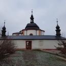 Barokní kaple vystavěná v letech 1734-36. Pětiboká stavba s ambity má pětiúhelníkový půdorys.