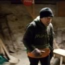 Pavlovi, jakmile šlo o dřevo, zajiskřilo v očích a nasadil ďábelské tempo i ďábelský výraz :-) Ale tu chybějící koupel, tu už nedožene nikdo :-)