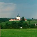 Kostel sv. Jana Nepomuckého na Zelené hoře - už jsme tam byli, děti mimojiné na školním výletě, tak ho můžeme vynechat...