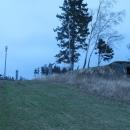 Shluk bunkrů na vrcholku