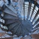 Točité schodiště na rozhledně