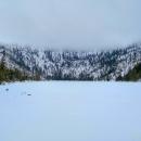 Plešné jezero, jedno z pěti jezer na české straně Šumavy, leží pod 220 m vysokou skalní stěnou ve svahu hory Plechý v nadmořské výšce 1 089 m.
