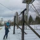 Okoukli jsme zdejší památník Železné opony