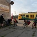V Okříškách na nádraží ve středu večer zahajujeme velikonoční výpravu. První letošní pod stan...