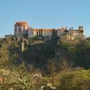 Další zámek je ve Vranově nad Dyjí, ale na prohlídku už je pozdě...