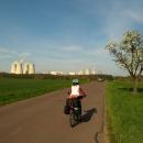 Objeli jsme celou elektrárnu, přičemž jsme najeli několik kilometrů, je to fakt rozsáhlý objekt.