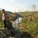 Vyhlídka na vodní nádž Mohelno