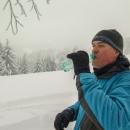 Sněží a není nic vidět, ke slovu přišla slivovička