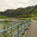 Parádní cyklostezka vltavským údolím vede až do Prahy