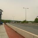 A ještě si zajíždíme na vyhlídku na Lahovickém mostě. Jsou tu umístěny dvě věže.