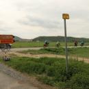 Objížďky na cyklostezkách jsme zažili jen v Německu, tady to vidět je nezvyklé, ale je vidět, že se s cyklisty začíná počítat.