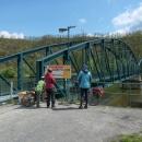 Lávka v Davli posloužila americkým filmařům jako kulisa pro válečný film Most u Remagenu.