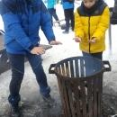 Ohříváme se jak bezdomovci :-)