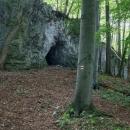 a jeskyni Průchodnici navštívit pěšky. Je to jen 300 metrů.