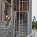 Obsluha rozhledny navíc už odjela, brána se zavřela.