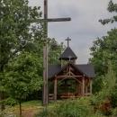 A na něm kaple sv. Antonína Paduánského, postavená v roce 2018.