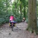 V obci Mladeč jsme cyklotrasu opustili a vrhli se na poslední terénní vložku této výpravy.