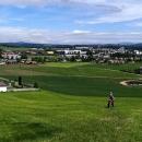 Nad Dlouhoňovicemi jsou krásné výhledy