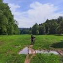 Cyklotrasa údolím Potočnice