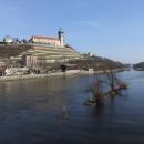 Mělnický zámek na řekou