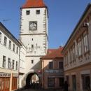 Hradební věž starého Mělníka