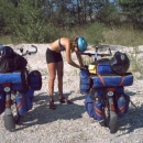 Příprava na očistu těla v Dunaji