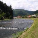 Údolí Svratky pod Vírskou přehradou