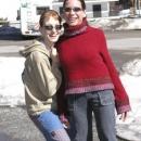 Ségra s Evičkou... Evička je ta vysoká :)))