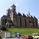 Kostel v Chebu - zrovna vyhrávali na varhany