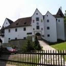 Rekonstruovaný hrádek Seeberg (Ostroh)