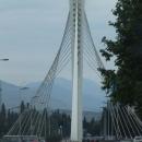 A už jsem v Podgorici – most Milenium