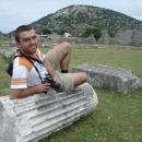 Pavel na ruinách římského města Dolcea
