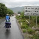 Před albánskou hranicí